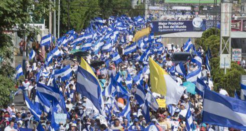 marcha nacional, presos políticos, reos, protesta