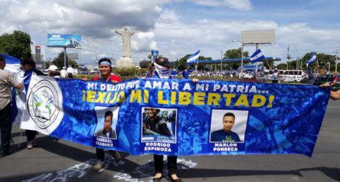 Nicaragua, presos políticos