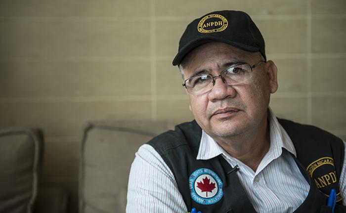 Álvaro Leiva, secretario ejecutivo de la Asociación Nicaragüense Pro Derechos Humanos (Anpdh). LA PRENSA/ ÓSCAR NAVARRETE