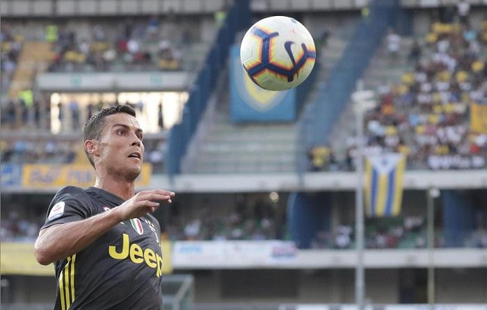 Cristiano Ronaldo debutó con el Juventus en la Serie A de Italia este sábado. LA PRENSA/EFE/EPA/FILIPPO VENEZIA