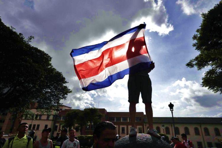 Miles de nicaragüenses se han refugiado en Costa Rica ante la brutal represión del régimen de Daniel Ortega. LA PRENSA/ EFE