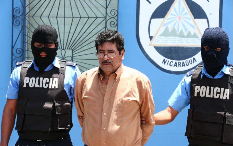 """Juan Carlos Baquedano, de 61 años, alias """"Mazámbulo"""", señalado de dirigir los tranques en Jinotega. TOMADO DE EL 19 DIGITAL"""