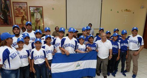 La Selección de Beisbol Nicaragüense Sub-12 buscará una medalla y la clasificación al mundial de la categoría en el Panamericano de Aguascalientes. LA PRENSA/URIEL MOLINA