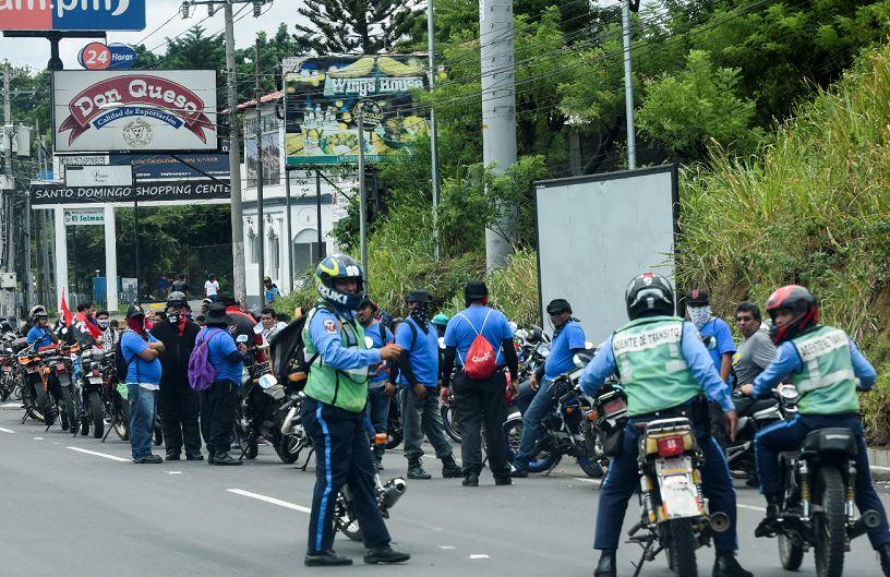 paramilitares, policía, Nicaragua
