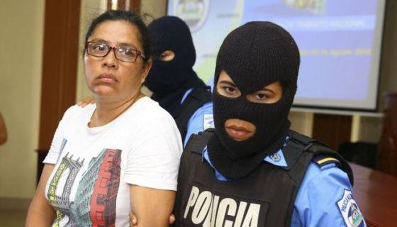 Olesia Auxiliadora Muñoz Pavón, la maestra y cantante detenida en El Chipote por apoyar protestas en Niquinohomo. Tomada del 19 Digital