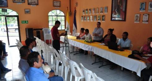 La comuna de Camoapa abordó con los pobladores los temores e inquietudes por la operaciones mineras aprobadas en la zona. LA PRENSA/ Melvin Rodríguez