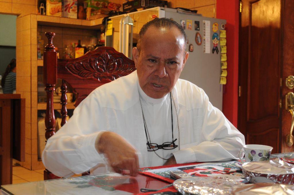 Monseñor Abelardo Mata, obispo de la Diócesis de Estelí. LA PRENSA/ ARCHIVO