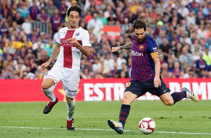 Barcelona Propino Impresionante Goleada Al Huesca