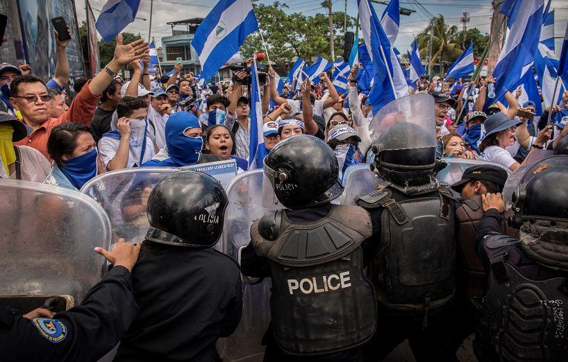 protestas, Nicaragua, Managua