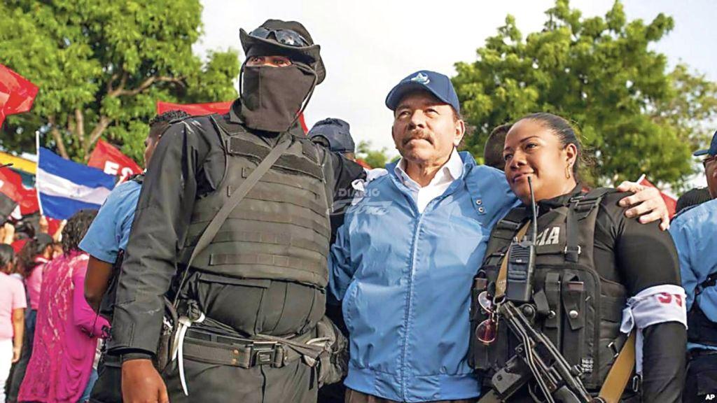 El presidente Daniel Ortega ha dado varias versiones sobre las operaciones de los paramilitares en el país. LA PRENSA/ CORTESÍA