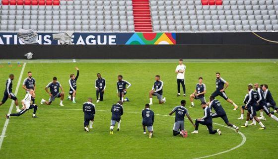 La Selección de Francia enfrentará su primer partido después del Mundial de Rusia ante Alemania, en la nueva Liga de Naciones de la UEFA. LA PRENSA/EFE/Lukas Barth-tuttas