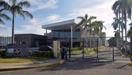 Centros comerciales de Nicaragua cerrados durante el tercer Paro Nacional. LA PRENSA/ ROBERTO FONSECA