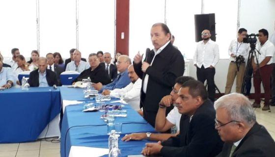 Daniel Ortega lleva varios meses intentando boicotear un Diálogo Nacional donde todas las partes que exigen democracia tengan voz. LA PRENSA/ARCHIVO