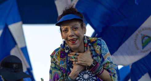 Rosario Murillo, protesta ciudadana, régimen de Daniel Ortega, caminatas, Papa Francisco