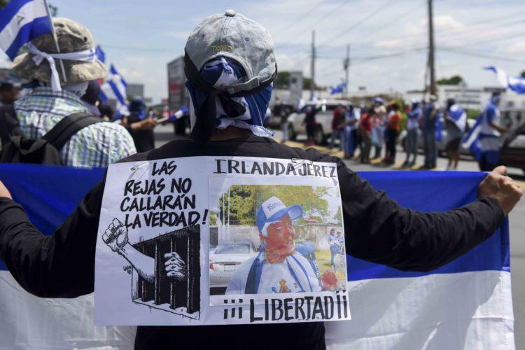 impunidad, crímenes, protesta, #SOSNicaragua, Daniel Ortega, protesta cívica