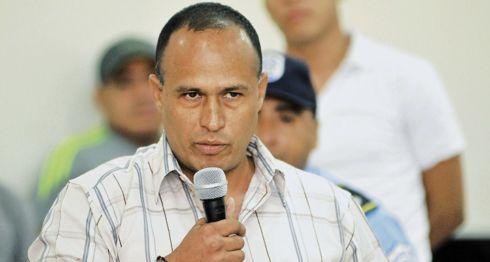 Capitán Zacarías Ignacio Salgado, jefe del grupo del operativo antidroga que culminó en una masacre contra inocentes el pasado 11 de julio de 2015. LA PRENSA/ Lissa Villagra/ ARCHIVO