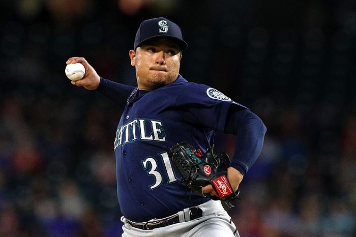 Erasmo Ramírez tuvo su salida más corta de la temporada este viernes ante los Rangers de Texas. LA PRENSA/AFP