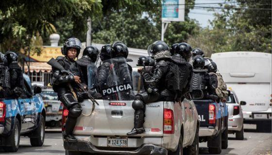 estado, antimotines, Daniel Ortega
