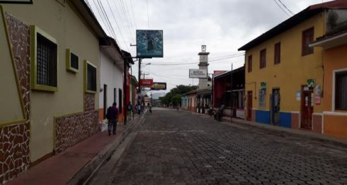 Somoto, turistas, paramilitares