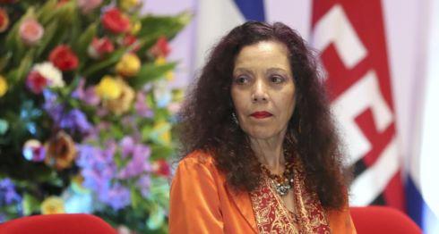 Rosario Murillo, esposa del dictador de Nicaragua Daniel Ortega. LA PRENSA/ TOMADA DE EL 19