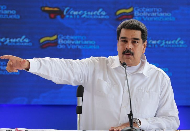 Nicolás Maduro, Venezuela, Grupo de Lima