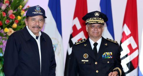 El comisionado general Francisco Díaz, director de la Policía Orteguista y consuegro de Daniel Ortega. LA PRENSA/ TOMADA DE EL 19