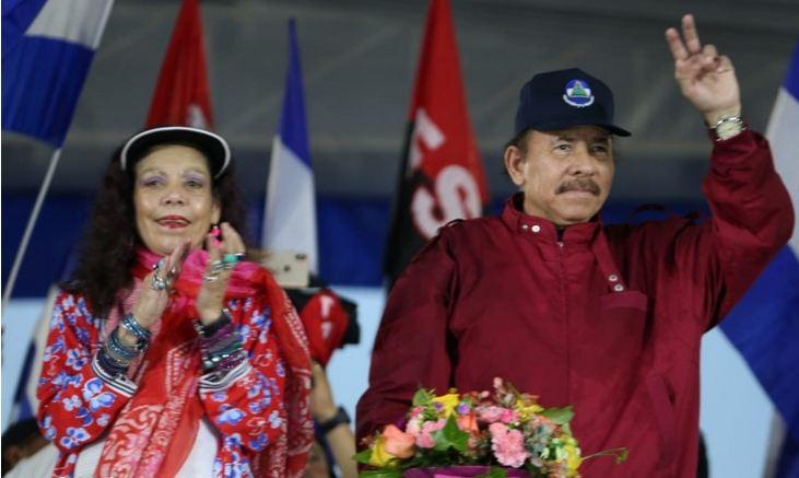 Los dictadores Rosario Murillo y Daniel Ortega. LA PRENSA/ ARCHIVO