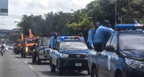 Policias y grúas es el objetivo del orteguismo para amedrentar a quienes realicen paro vehícular