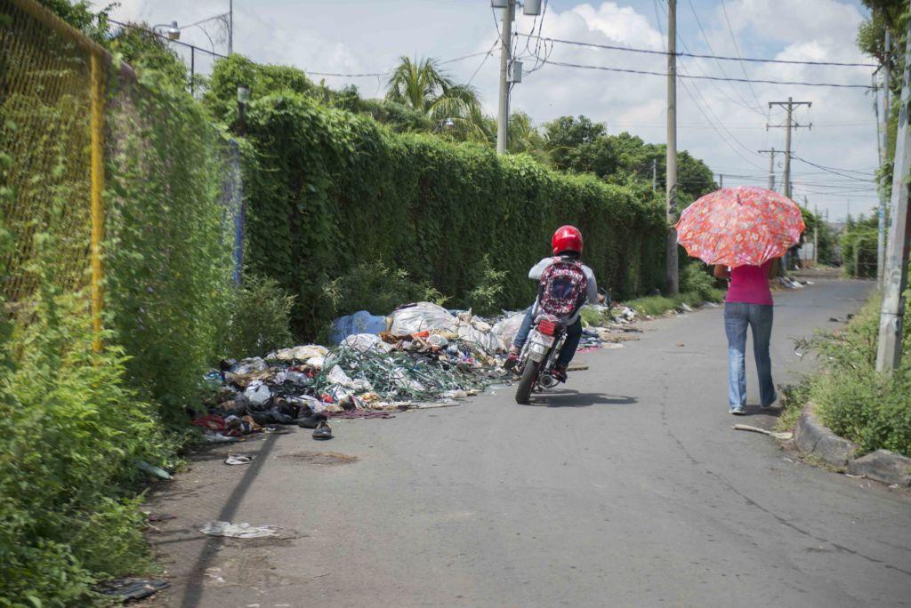 Basureros en Managua