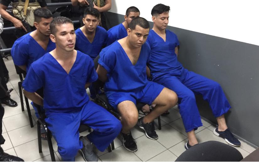 Edwin Carcache, presos políticos