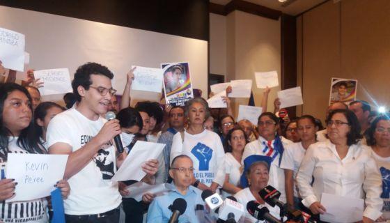 Unidad Nacional Azul y Blanco, marcha nacional, emergencia, lluvias, Nicaragua