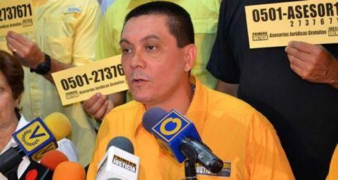 El concejal venezolano Fernando Albán murió en las instalaciones del Servicio Bolivariano de Inteligencia (SEBIN), el órgano de espionaje del chavismo. LA PRENSA/ CORTESÍA
