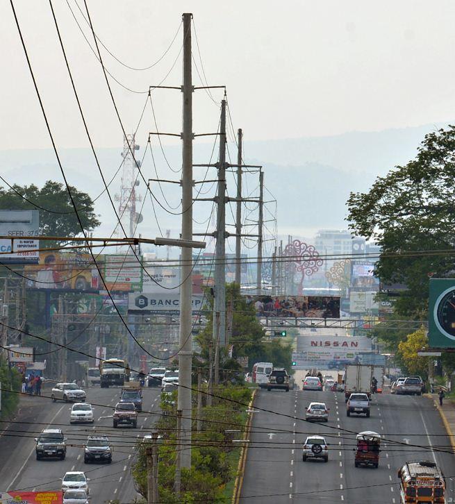 El sistema eléctrico nacional cubre más del 90% del territorio de Nicaragua. LA PRENSA/ ARCHIVO