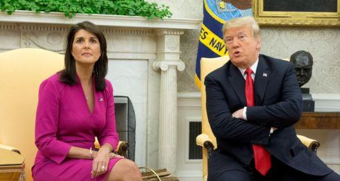 Donald Trump, Nikki Halley