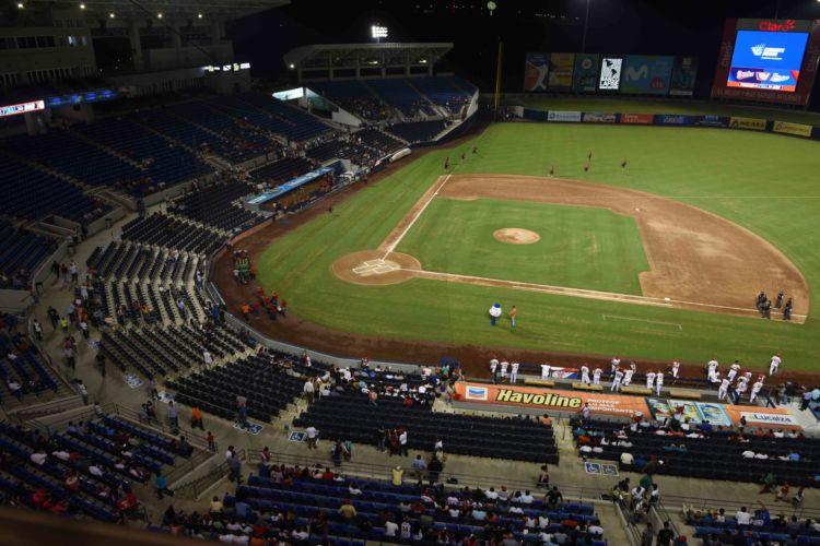El Estadio Nacional Dennis Martínez será el escenario de la serie de de beisbol de fogueo entre las selección de Nicaragua y Puerto Rico, que se jugará 15, 16 y 17 de marzo. LAPRENSA/ROBERTO FONSECA