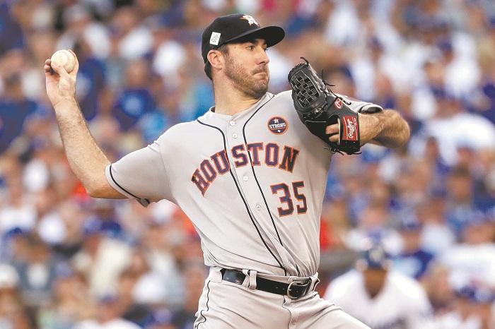 Justin Verlander abrirá por los Astros de Houston en el primer partido de la Serie de Campeonato de la Liga Americana. LA PRENSA/ARCHIVO