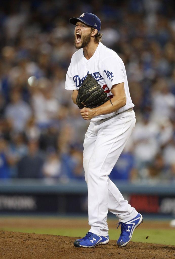 Clayton Kershaw es el principal abridor de los Dodgers de Los Ángeles. LA PRENSA/EFE/EPA/MIKE NELSON