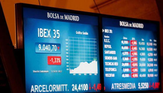 Las bolsas de valores en el mundo registran caídas este jueves, tras días de inestabilidad. LA PRENSA/ EFE