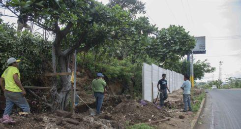 Desalojos en Managua