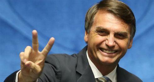 Jair Bolsonaro, candidato presidencial de Brasil. LA PRENSA/CORTESÍA
