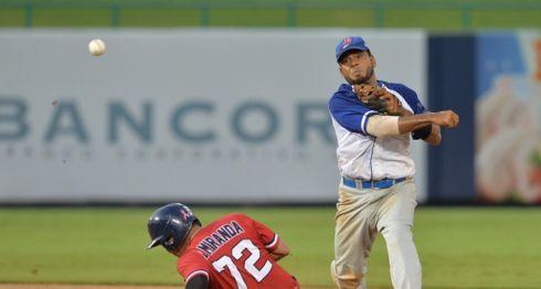 Los Dantos están a un triunfo de ganar el título de la edición 2018 del Campeonato Nacional de Beisbol Superior, ante el Bóer. LA PRENSA/JADER FLORES