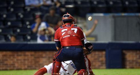 Los Dantos vencieron al Bóer en la serie final del Campeonato Nacional de Beisbol Superior 2018. LA PRENSA/ROBERTO FONSECA