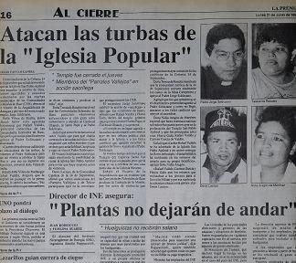 Rafael Valdez, Nicaragua, Silvio Baez