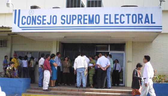 cédula de identidad, Consejo Supremo Electoral, Ética y Transparencia