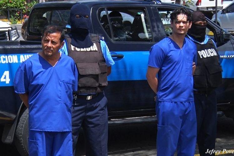 """La Policía Orteguista presentó como """"terrorista"""" al militar en retiro Alfonso Morazán Castillo, padre del activista Yaser Morazán. TOMADA DE EL 19"""