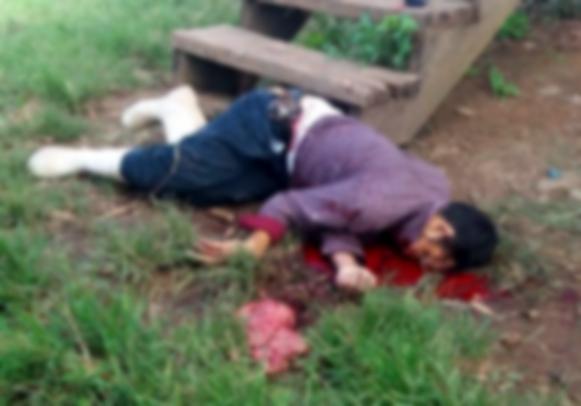 Los dos delincuentes después que los atacaron y acabaron con ellos también se llevaron las escopetas que utilizaban para realizar la labor de vigilancia. LA PRENSA/ JOSÉ GARTH