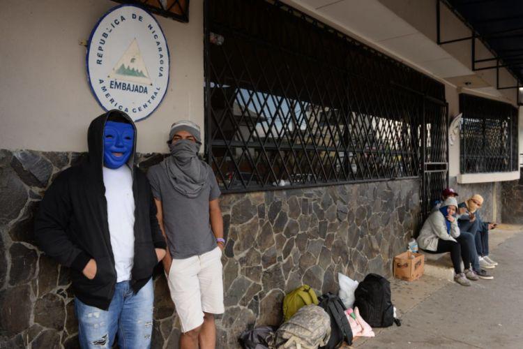 Son más de 40,000 los nicaragüenses refugiados en Costa Rica por al represión de Daniel Ortega. LA PRENSA/ MANUEL ESQUIVEL