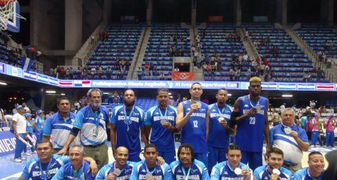 Serbio Abea, baloncesto, Nicaragua