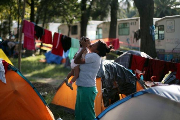 migrantes, caravana, Estados Unidos, México