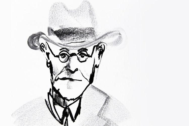 El reconocido psicoanalista Sigmund Freud resultó todo un alienista.Getty Images
